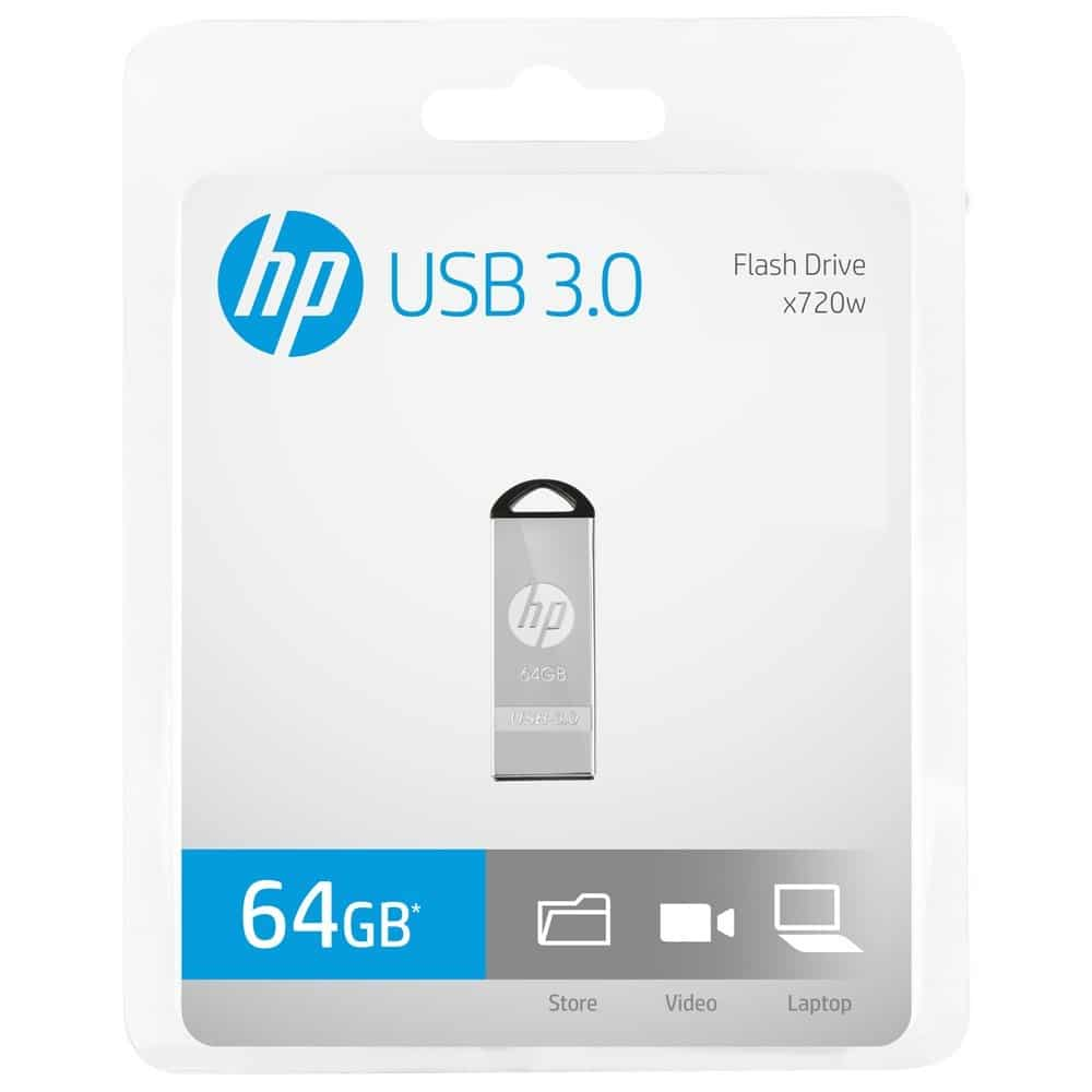 HP USB Flash Drive x720w 3.0 Packing