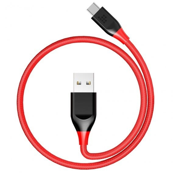 Anker Type-c to Type-c 3ft Red