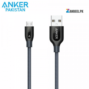 Anker PowerLine 3ft Micro USB Cable Gray 1