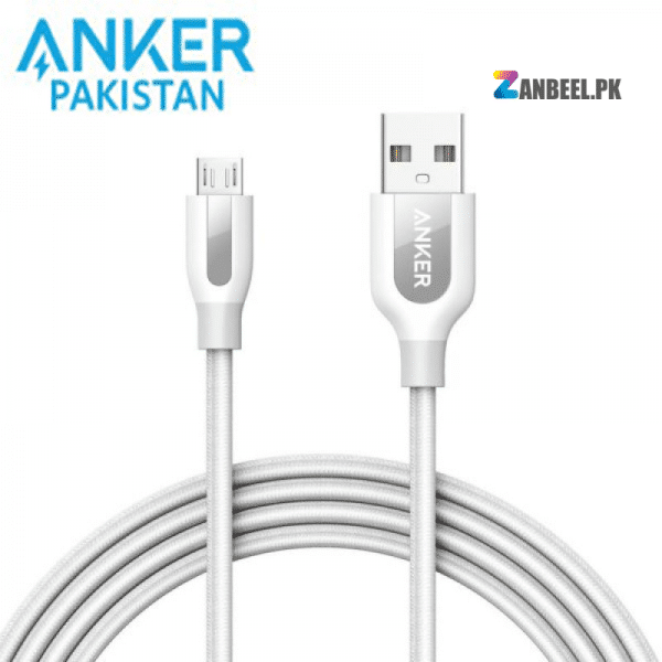 Anker PowerLine 6ft Micro USB Cable White