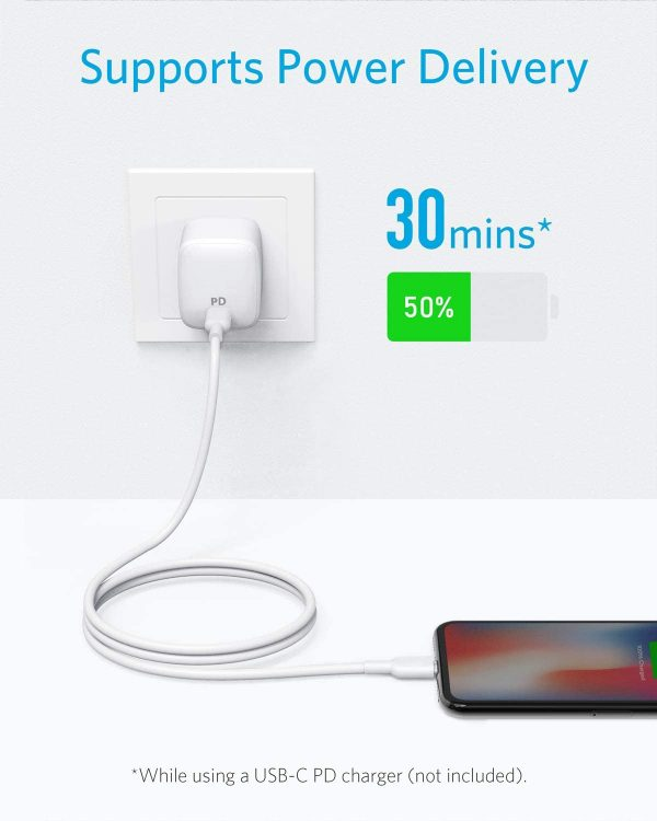Anker PowerLine Select USB C To Lightning Cable 6ft...