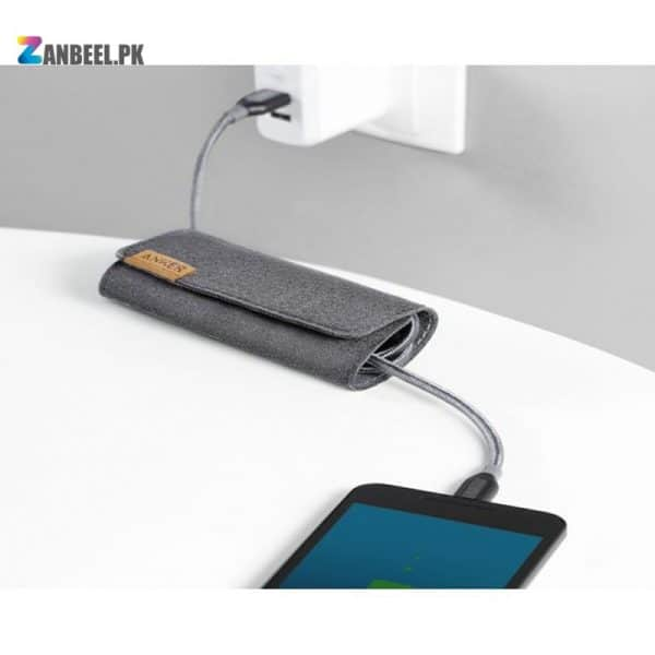 Anker PowerLine USB C To USB 3.0 Cable 3ft. Gray.......