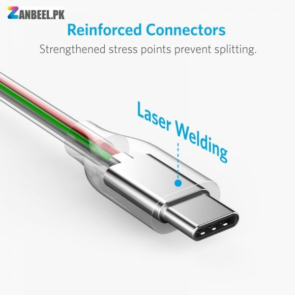 Anker Powerline USB C To USB A 3.0 Cable 6ft..