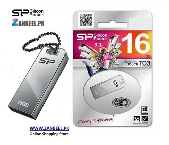 buy price flash memory silicon power touch t03 16gb 3