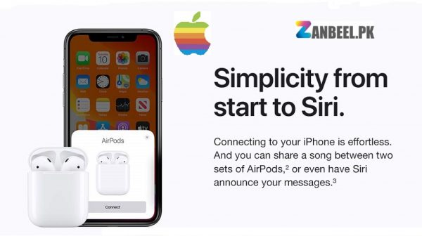 Apple Airpods 2 wired.